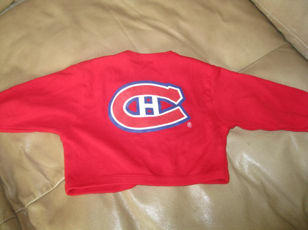 Boys NHL long-sleeve top - size 3 MONTHS