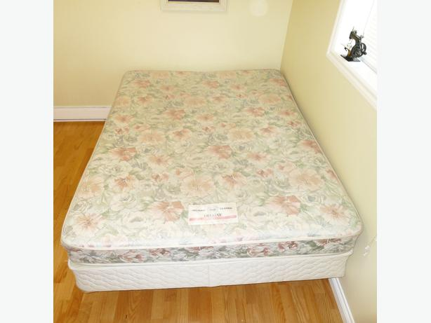 Queen Size Mattress Box Spring Delivery Available