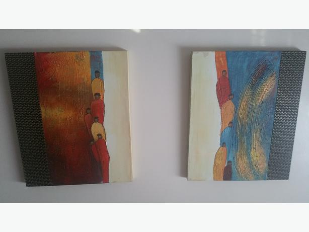 Set of 2 paintings