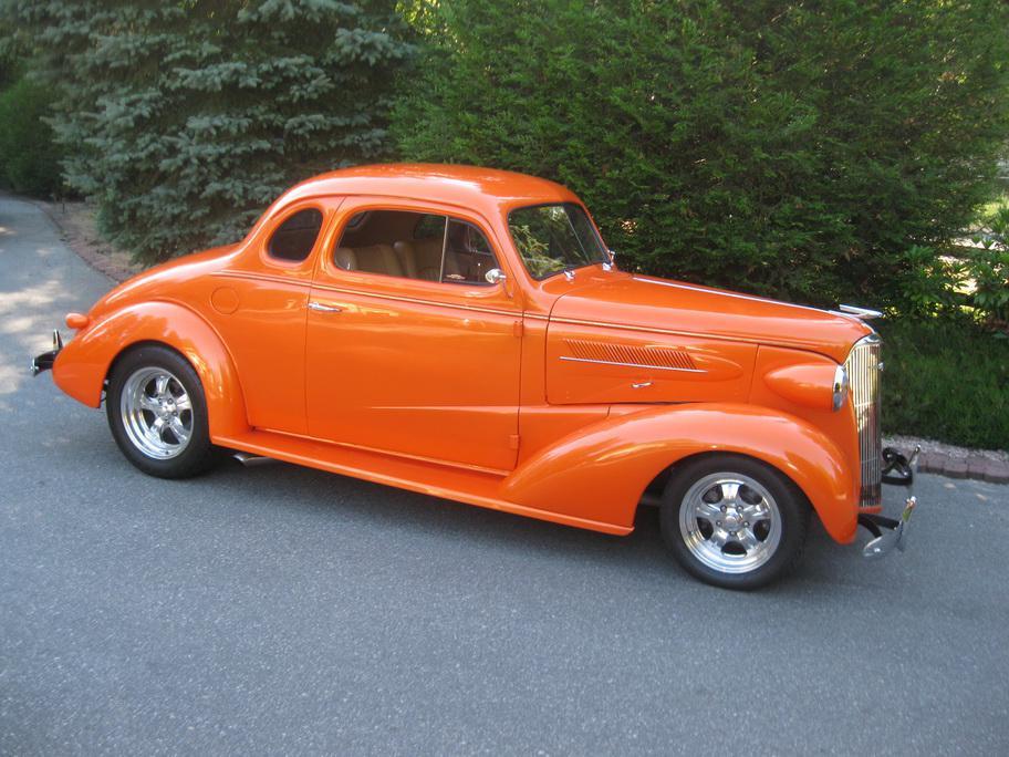 1937 Chevrolet 5 Window Coupe Outside Victoria Victoria