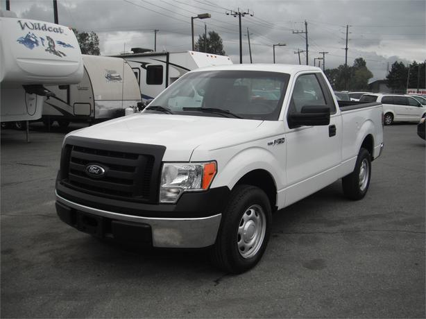 2012 ford f 150 regular cab xl 6 5 ft bed 2wd outside cowichan valley cowichan mobile. Black Bedroom Furniture Sets. Home Design Ideas
