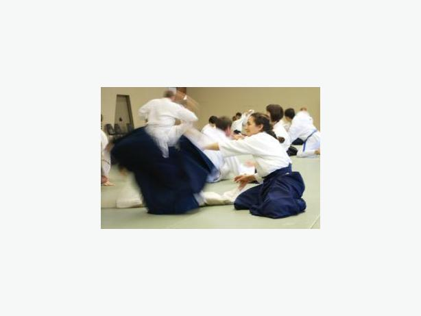 Aikido classes for children and adults .