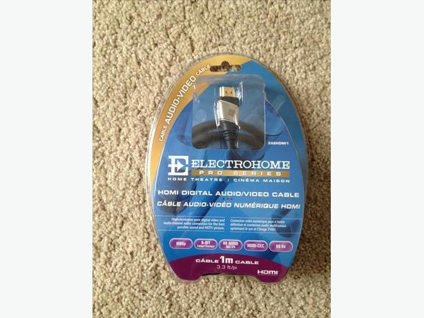 Electrohome Pro Series HDMI Audio Cable 1 Meter