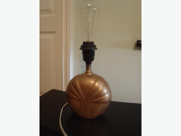 art deco style boudoir lamp north nanaimo parksville qualicum beach. Black Bedroom Furniture Sets. Home Design Ideas
