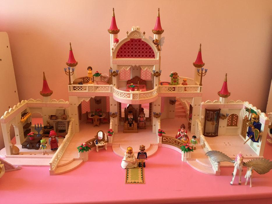 Huge Playmobil Princess Fairy Tale Castle Plus Extras Oak Bay Victoria