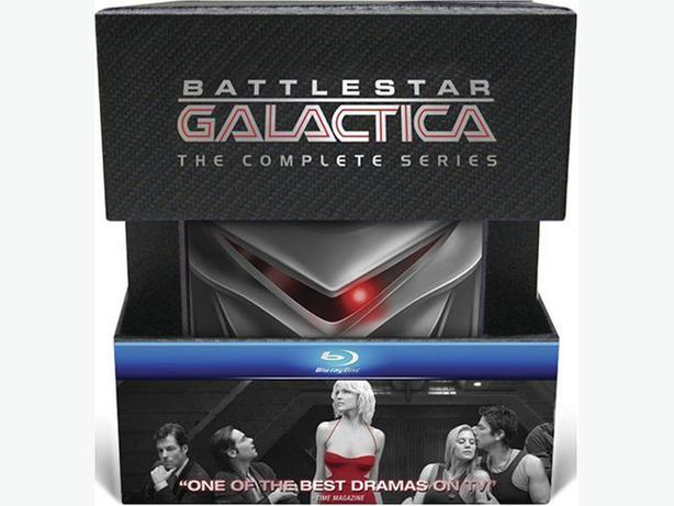 Battlestar Galactica: Complete Series & The Plan (Bluray)