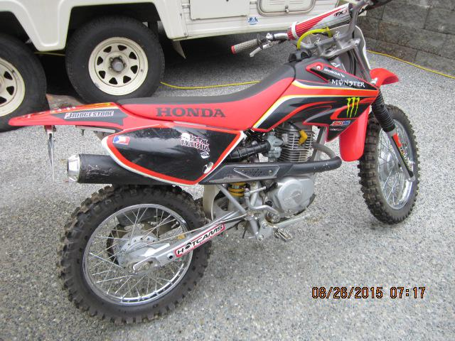Honda Dirt Bike Edmonton