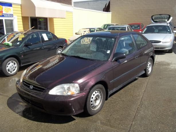 2000 Honda Civic Cx Auto 1 6 L Hatchback Victoria City
