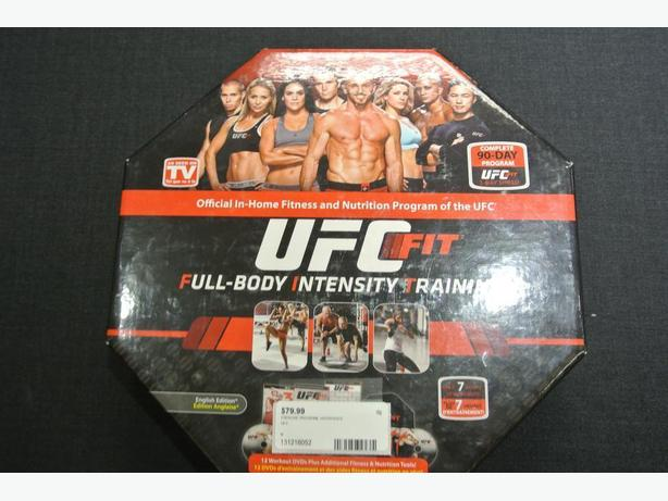 UFC FIT: FULL BODY INTENSITY TRAINING DVD