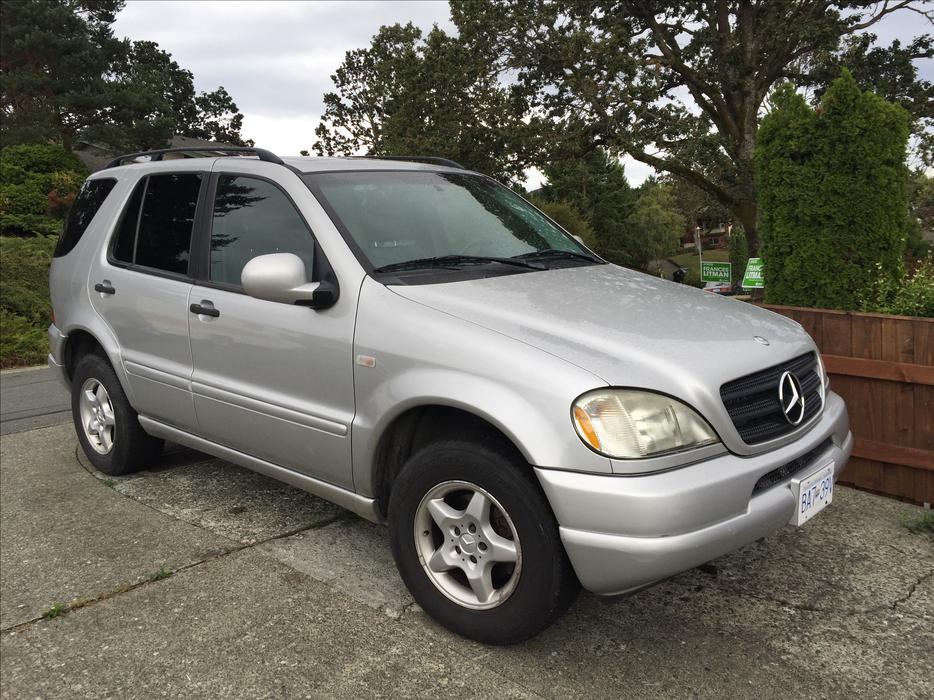 1999 mercedes ml 320 saanich victoria mobile for Mercedes benz 1999 ml320