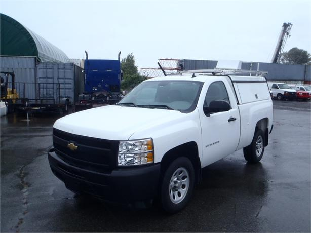 2011 chevrolet silverado 1500 work truck 2wd with service canopy roof rack outside cowichan. Black Bedroom Furniture Sets. Home Design Ideas