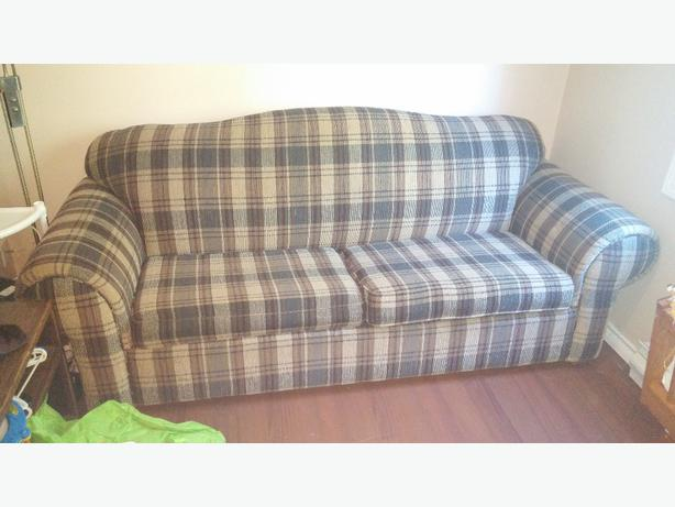 sofa bed and new memory foam topper Cedar, Parksville ...