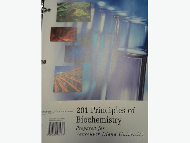 201 Principles of Biochemistry