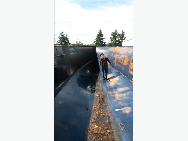 3 500 boat mold water storage south nanaimo parksville for Boat garage on water
