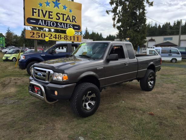 2007 ford ranger xlt super cab 4wd 4 0l sohc automatic 5 speed parksville nanaimo. Black Bedroom Furniture Sets. Home Design Ideas