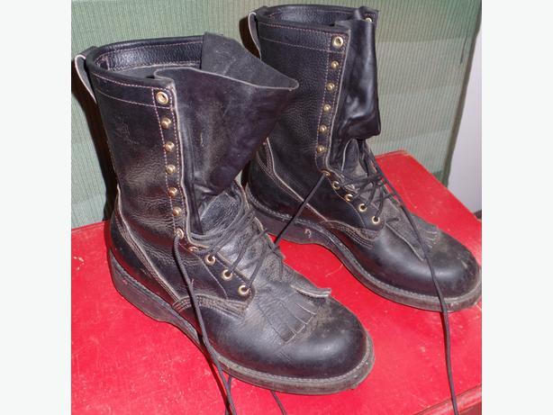 viberg leather caulk boots duncan cowichan