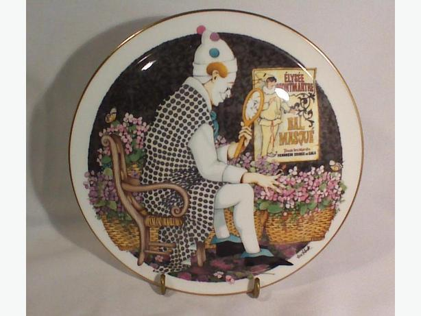 Royal Doulton The Painted Masque collector plate