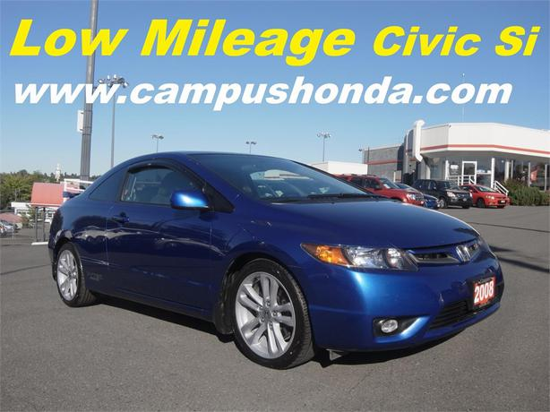 2008 honda civic si manual transmission