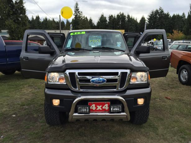 2007 ford ranger xlt super cab 4wd 4 0l sohc automatic 5 speed outside comox valley. Black Bedroom Furniture Sets. Home Design Ideas