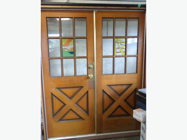 Solid Wood Exterior Doors Campbell River, Courtenay Comox