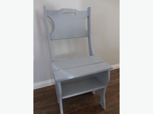 Wooden Chair Can Be Made Into Step Stool Very Sturdy 25