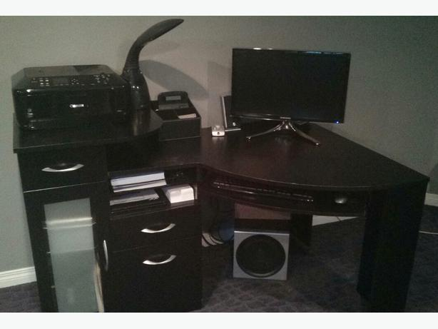 Staples corner desk east regina regina - Storage staples corner ...