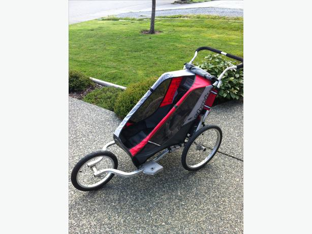 """Chariot """"Cougar"""" Jogging Stroller with bike attachments ..."""