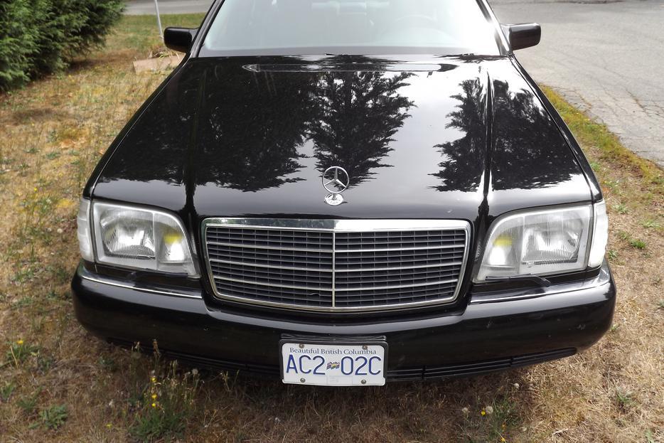 Rare 1994 Mercedes Benz S320 Brabus Outside Victoria Victoria
