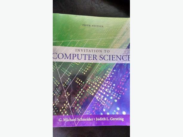 Invitation To Computer Science Victoria City Victoria