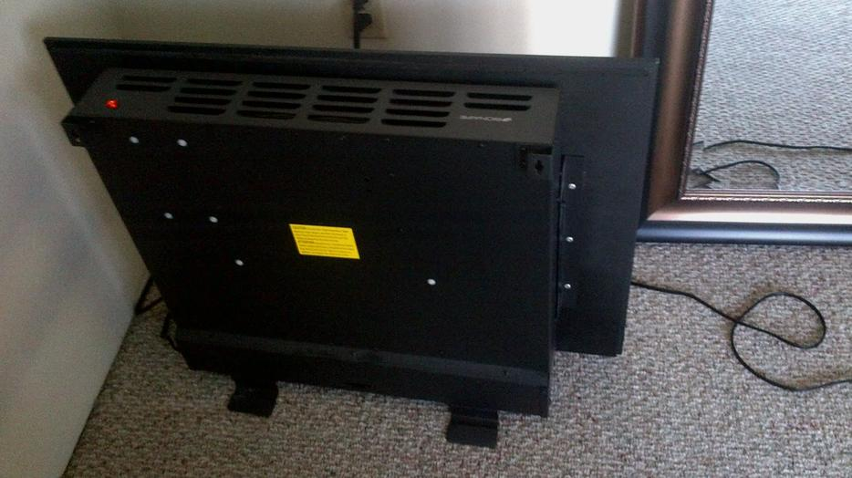 Bionaire Electric Fireplace Heater Less Then A Year Old Central Nanaimo Nanaimo