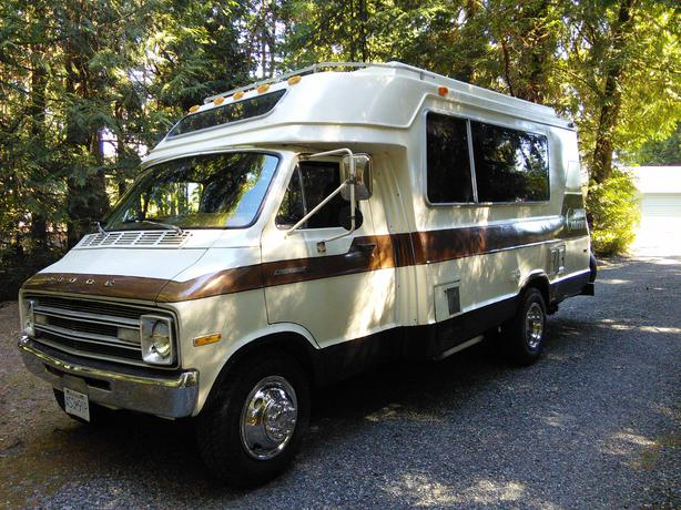 Log In needed $6,000 · 1978 Dodge Chinook Concourse Motorhome