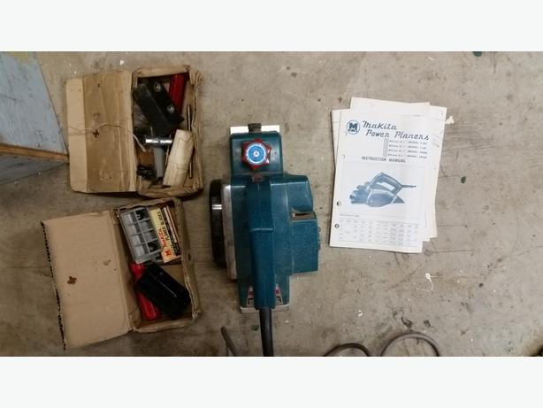 how to use makita power planer