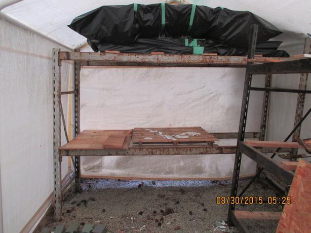 heavy gauge steel shelving unit esquimalt view royal. Black Bedroom Furniture Sets. Home Design Ideas