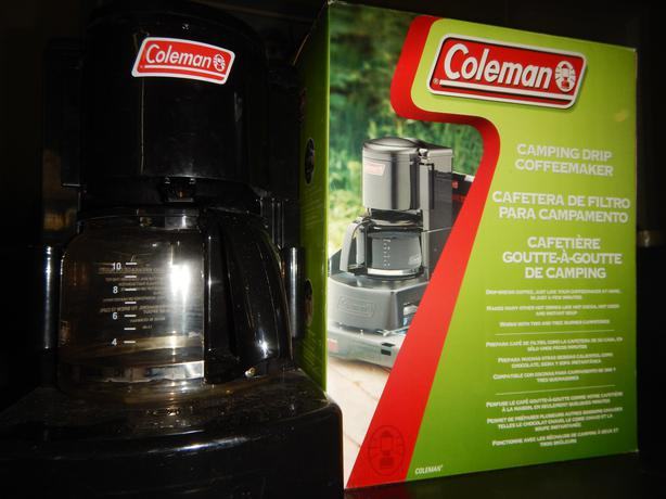 coleman camping coffee maker instructions