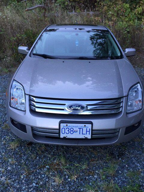 2007 ford fusion awd v 6 outside nanaimo nanaimo. Black Bedroom Furniture Sets. Home Design Ideas
