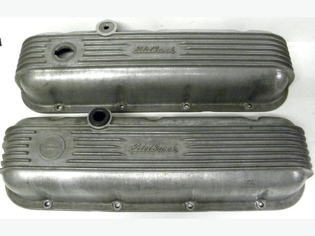 67 66 68 Camaro Chevelle Corvette Edelbrock 4180 Valve Covers