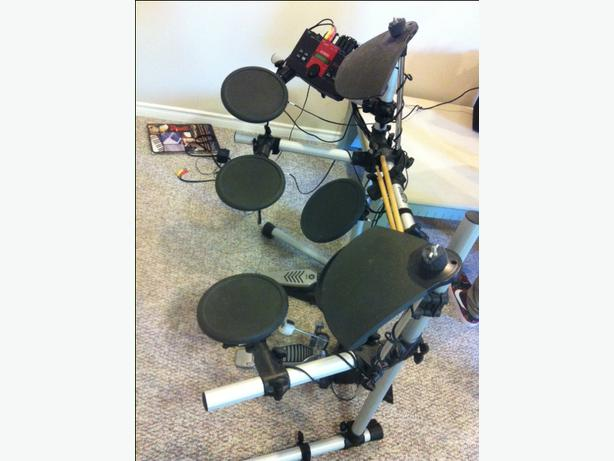 yamaha electric drum set for sale north nanaimo parksville qualicum beach. Black Bedroom Furniture Sets. Home Design Ideas
