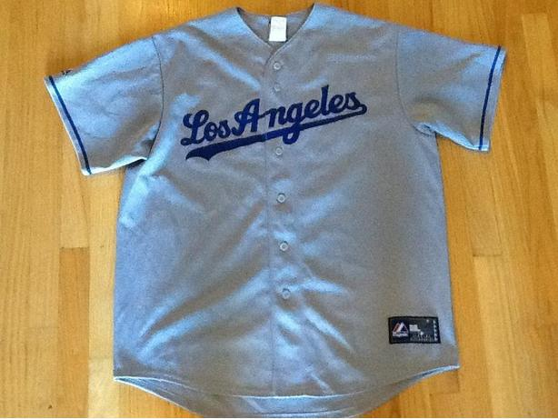 Los Angeles Dodgers Manny Ramirez #99 Button Jersey
