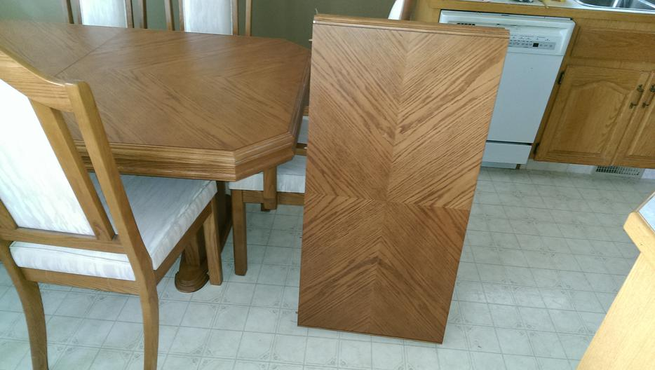 CANADIAN MADE CALIFORNIA OAK DINING ROOM TABLE AND 6  : 48902909934 from www.usedregina.com size 934 x 528 jpeg 62kB