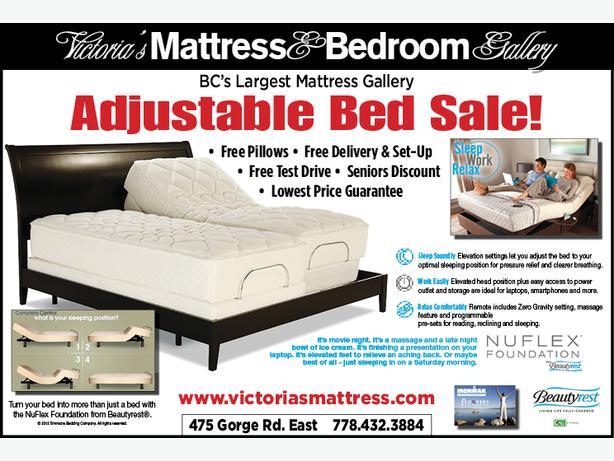 Adjustable Bed Sale Ottawa