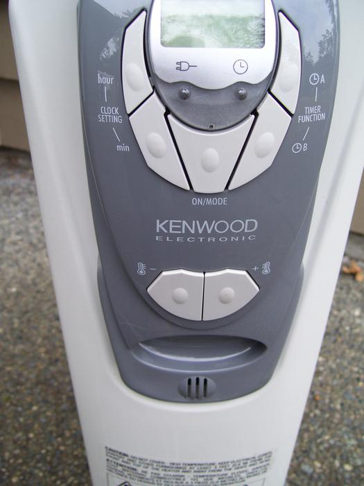 Kenwood Electronic Oil Filled Heater Saanich Victoria