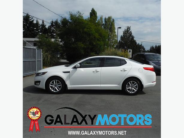 2011 Kia Optima Lx Leather Alloy Bluetooth New Tires