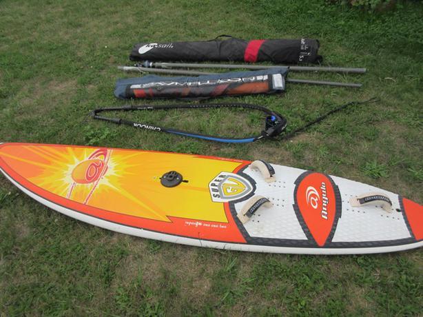full windsurf kit