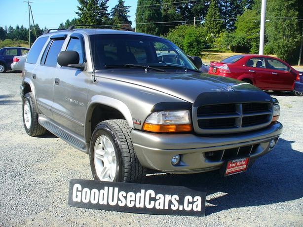 2000 dodge durango rt edition leather 7 passenger awd and much more outside nanaimo. Black Bedroom Furniture Sets. Home Design Ideas