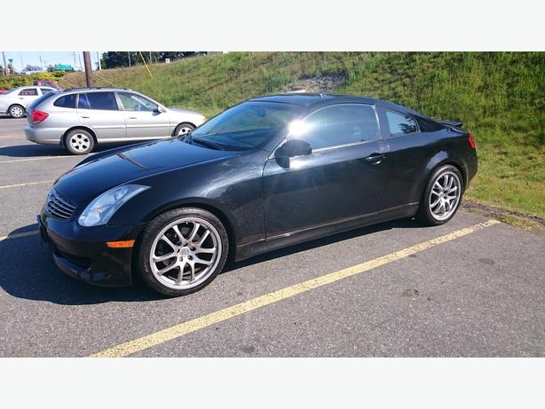 2006 infiniti g35 coupe sport package 6 speed manual. Black Bedroom Furniture Sets. Home Design Ideas