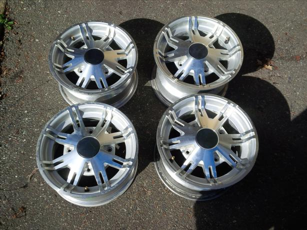 Can Am 12inch Al Rims