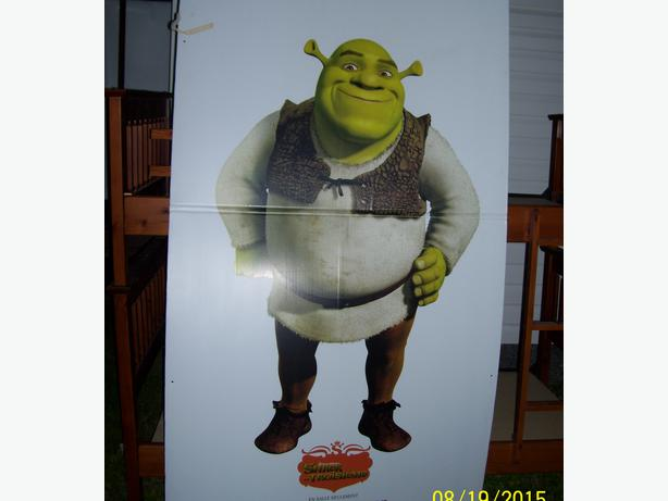 Lifesize Shrek Approx. 6 ft tall