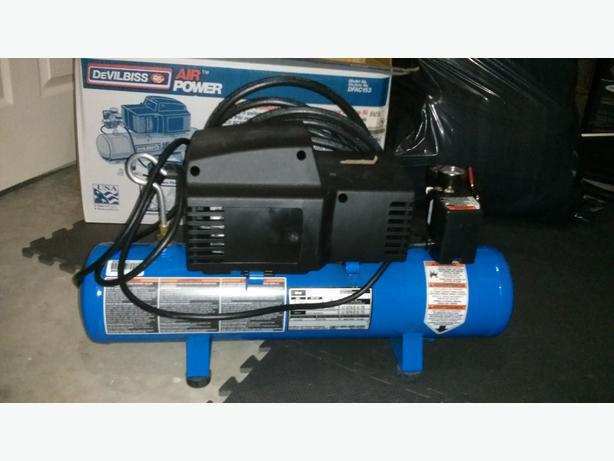 Devilbiss Dfac153 3 Gallon 1 5hp Air Compressor Watch