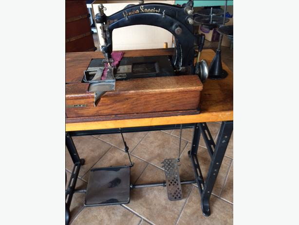 Was Vintage sewing machine union special you