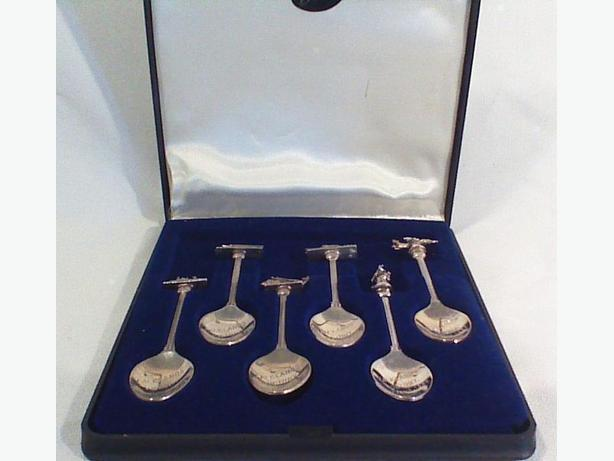 Falklands War commemorative spoon set